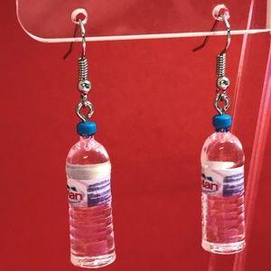 Water Bottle Acrylic Earrings